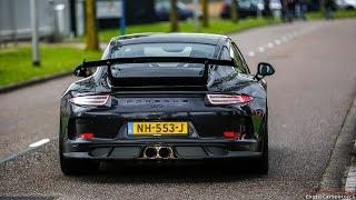 Porsche 991 GT3 w/ Akrapovic Exhaust - LOUD Accelerations !