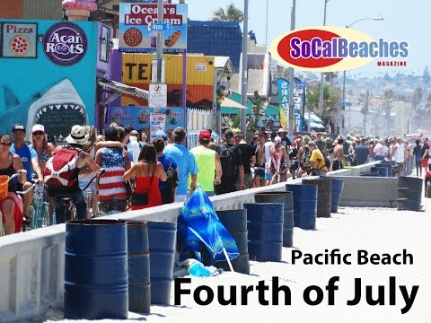 Fourth of July San Diego Beaches