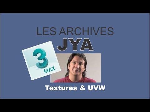 Texture et UVW avec 3ds MAX 3/5