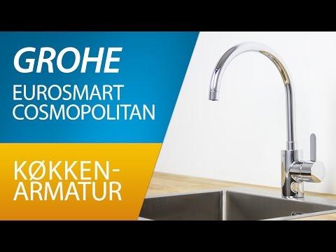 PRODUKT | Grohe Eurosmart Cosmopolitan køkkenarmatur