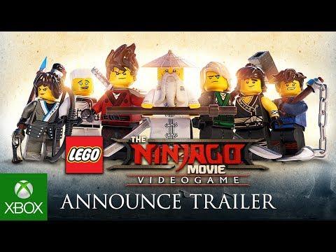 LEGO Ninjago Movie Video Game | Announce Trailer - duncannagle.com