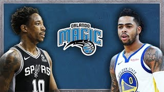5 Trade Ideas for the Orlando Magic