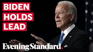 US election polls: Biden maintains 11-point lead over Trump