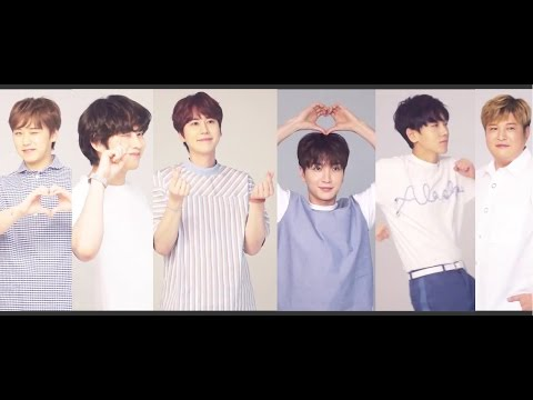 Super Junior's CF Lotte Duty Free (Behind the scenes)!