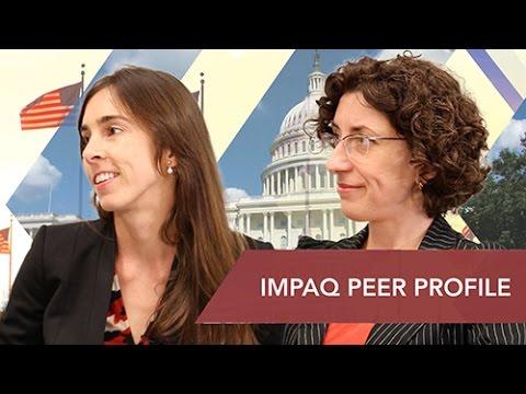 Laurence Dessein and Michaela Gulemetova, Research Associates at IMPAQ International