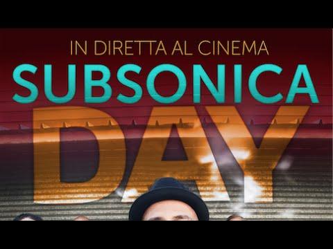 SUBSONICA DAY - venerdì 5 giugno AL CINEMA!