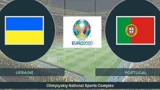 Ukraine vs Bồ Đào Nha Vòng Loại Euro 2020 Game Play