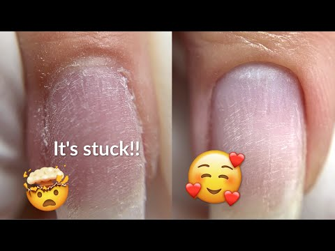 Dry Manicure Tutorial | Gel overlay and Summer Nail Art