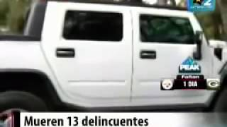Graban Balacera en Vivo Militares Vs Cártel del Golfo En Tamaulipas