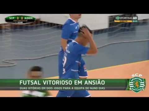 16/17 Sporting venceu ADR Mata por 3x2 em Ansião