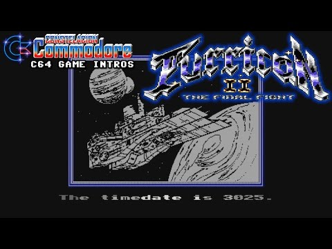 C64 Game Intro: Turrican II - The Final Fight (Rainbow Arts, 1991)