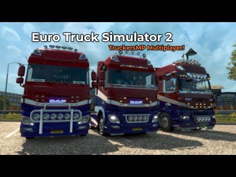 Euro Truck Simulator 2  TruckersMP Livestream 28042018