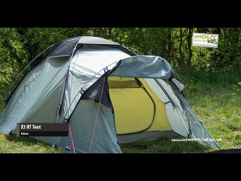 video Adventure Camping with the Robens X3 HT Tent
