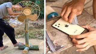 Creative ideas handcraft make any item like , iphone 11, fan, ... useful things