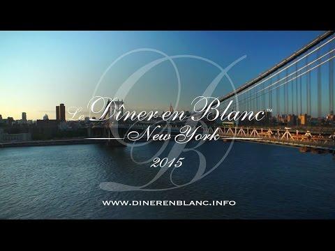 Diner en Blanc - New York 2015, Official Video
