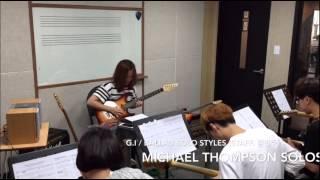 The GI / Melodic Pop Ballard Solo Class.(Staff. 김연주), Michael Landau & Michael Thompson solos