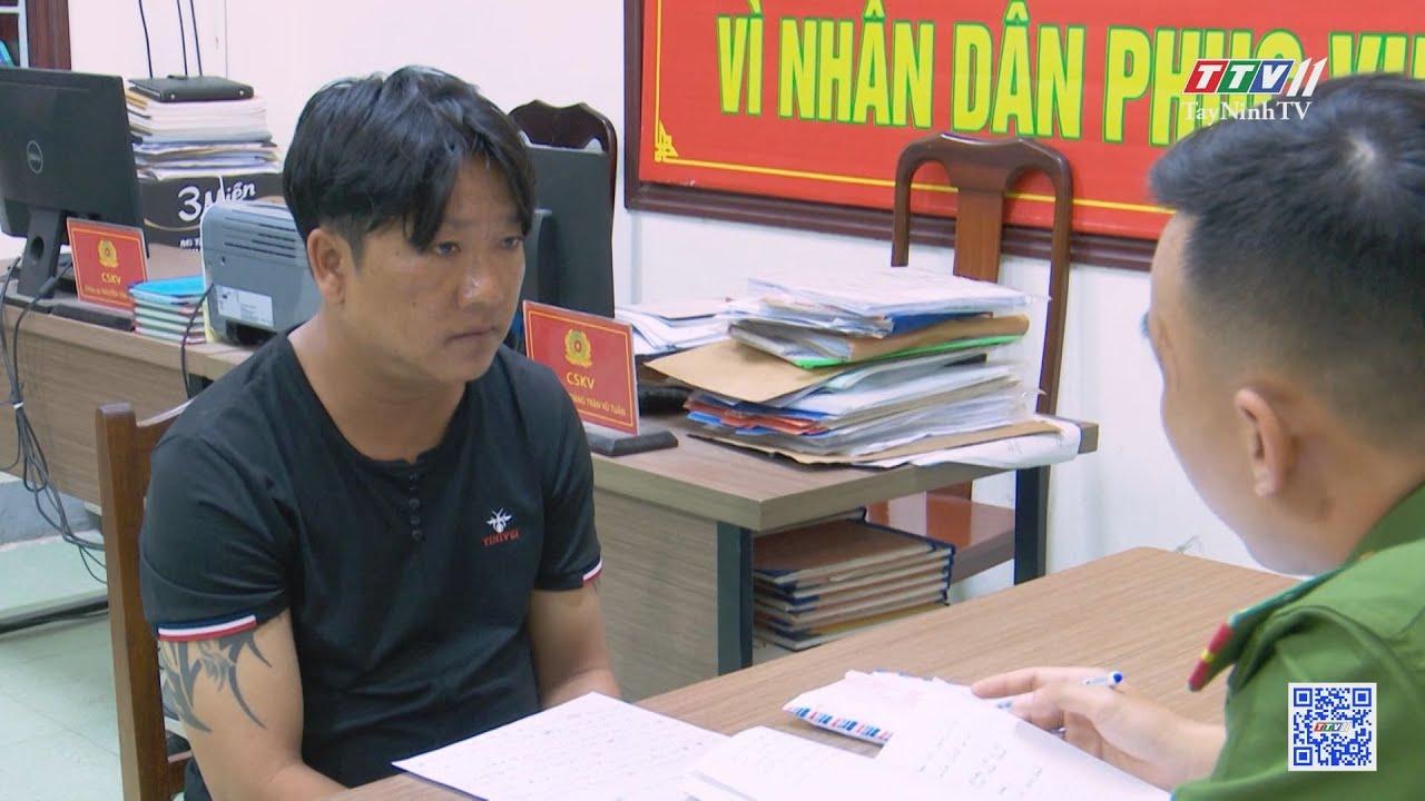 Đà Nẵng: bắt kẻ trộm vờ mua hàng để lấy cắp điện thoại | AN NINH HÌNH SỰ | TayNinhTV