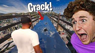 I Walked Over The GLASS BRIDGE In GTA 5.. (GONE BAD)