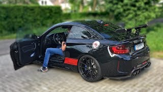 BMW M2 PP-PERFORMANCE w/ LOUD DECATTED FI EXHAUST *POPS  BANGS*