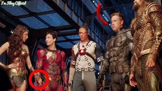 """Justice League - The Real Behaviours of the Cast Revealed - """"Heart of Justice League"""" Featurette"""