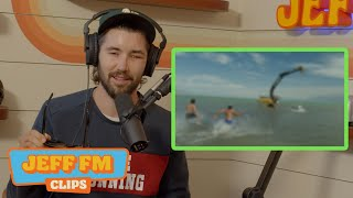 Jeff Wittek REACTS TO HIS ACCIDENT (AFTER SURGERY) | JEFF FM CLIPS