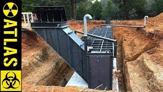 Atlas 10x30 Safe-Cellar - Luxury Bunker Built Under A Home (Complete Installation Video)