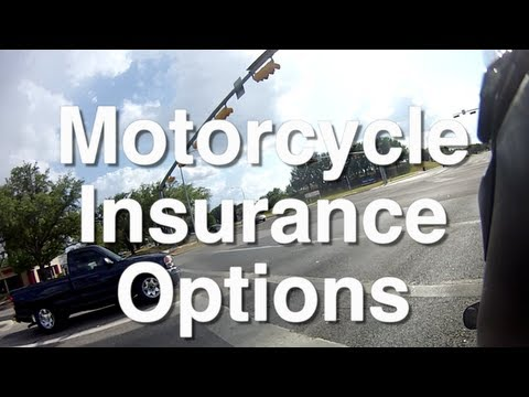 Motorcycle Insurance - What Coverage Do You Need?