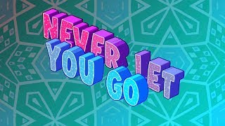 Slushii - Never Let You Go ft. Sofia Reyes [Lyric Video]