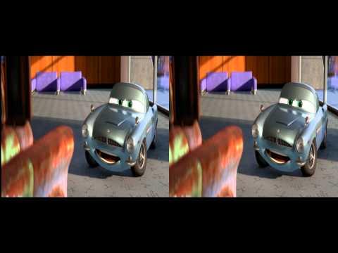 Cars 2 3d Trailer in 3d
