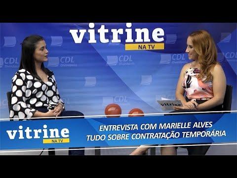 Imagem Tudo sobre Contratação Temporária - VITRINE NA TV 13/11/2018