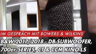 B&W ASW608 Subwoofer Demo - foley001