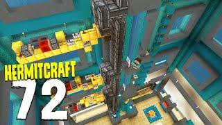 HermitCraft 7: 72 | I built a SMART ELEVATOR