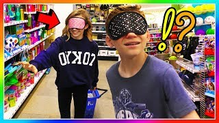 BLINDFOLDED SHOPPING AT fiVe BELoW | We Are The Davises