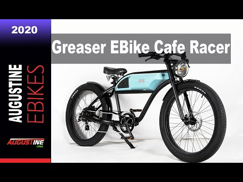 E bikes 2020: Greaser 500w Electric Bike Cafe Racer