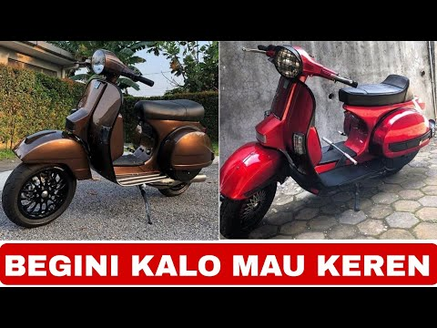Vespa Excel T5 Morning Warm Up From Malaysia Videomoviles Com