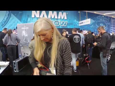 Somnium Guitars at Winter NAMM 2017