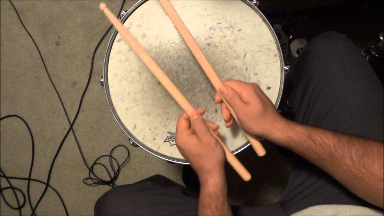 how to hold drum sticks matched grip french german and american style youtube. Black Bedroom Furniture Sets. Home Design Ideas