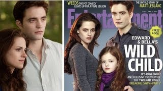 Kristen Stewart as a Vampire Mom on Breaking Dawn Cover of Enter
