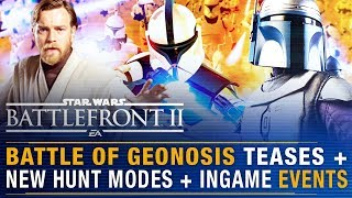 Battle of Geonosis Teases + Obi-wan Kenobi Fully Playable + All New Game Events | Battlefront Update