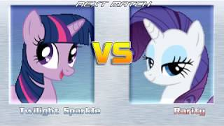 Let's Play My Little Pony M.U.G.E.N (Team Versus Turn Mode) EP5 P'Ender,N'Meow