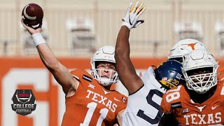 West Virginia Mountaineers vs. Texas Longhorns | 2020 College Football Highlights
