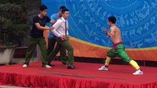 Thiếu lâm Trung Quốc cũng phải nghiêng mình với võ sư Việt Nam Mão Mèo