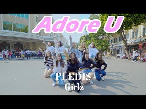 [KPOP IN PUBLIC]   PLEDIS Girlz (플레디스 걸즈) - ADORE U (아낀다 ) DANCE COVER by BLACKCHUCK