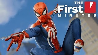 The First 20 Minutes of Marvel's Spider-Man (PS4) Gameplay in 4K