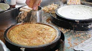 Malaysian Street Food - PANCAKE Cream Corn, Peanut Butter