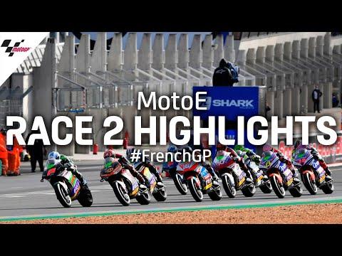 MotoE Race 2 Highlights - 2020 #FrenchGP