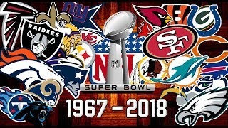 NFL All Super Bowl Winners 1967-2018