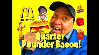 McDonald's® Quarter Pounder Bacon Ft. JKMCraveTV!