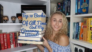My Top 10 Books Of All Time And My Giveaway Winner!