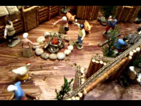 Jamestown Settlement Model Youtube